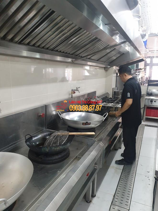 Thi Công 247 - Thi công bếp đạt chuẩn VSATTP