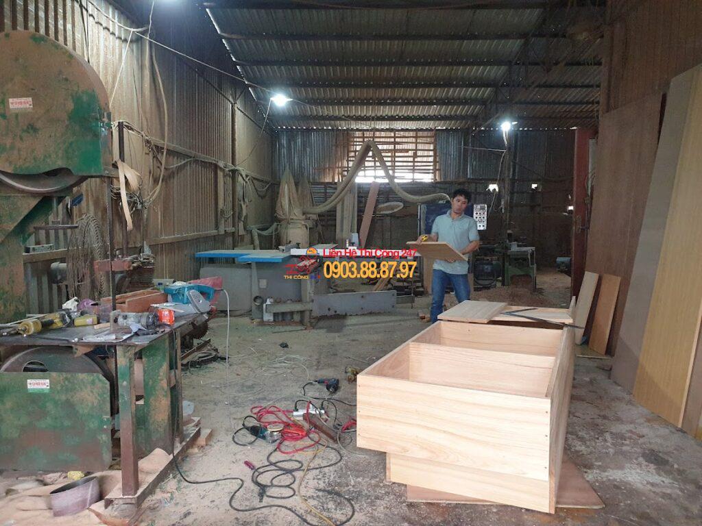 Thi Công 247 - Thi công sửa chữa nhà 24h - Xưởng sản suất thi công đồ nội thất gỗ tự nhiên tại tphcm bình dương