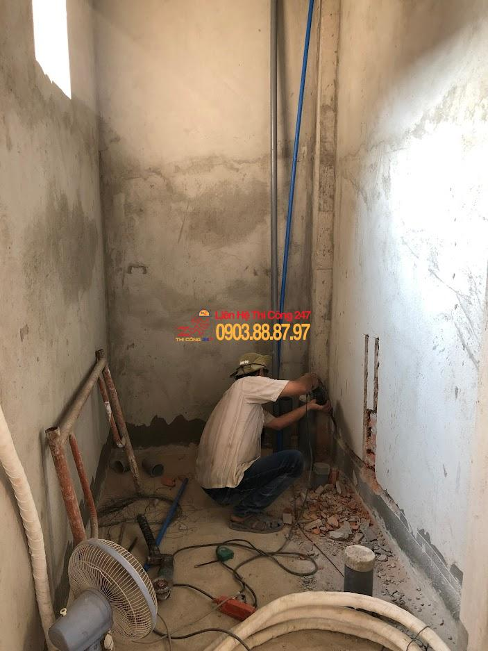thợ thi công điện nước 24h