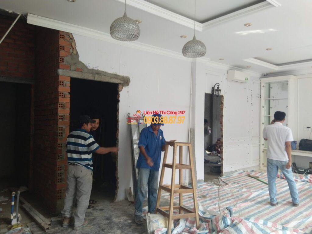 THI CÔNG 247 - Nhà Thầu Thi Công Sửa Chữa Công Trình 24/7 Dịch vụ thợ sửa điện nước tại nhà 24h giá rẻ tại TpHCM