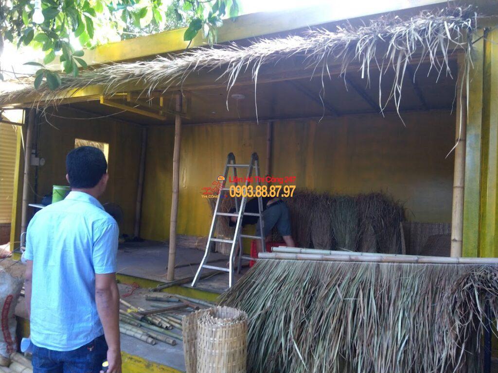 THI CÔNG 247 - Nhà Thầu Thi Công Sửa Chữa Công Trình 24/7 Thi công nhà hàng Món Ngon Quảng Ngãi Chi Nhánh 4