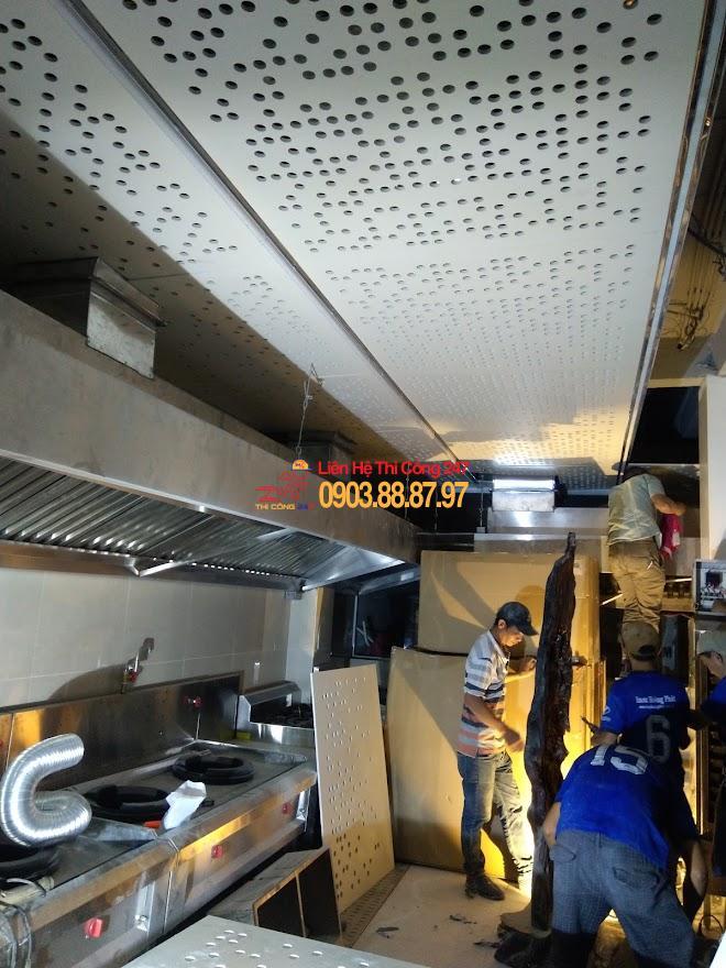 Thi công bếp nhà hàng đạt chuẩn vệ sinh an toàn thực phẩm