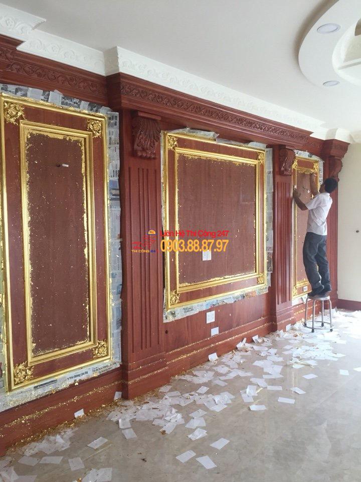 THI CÔNG 247 - Nhà Thầu Thi Công Sửa Chữa Công Trình 24/7 Quy trình sản xuất thi công nội thất gỗ tự nhiên Tp.HCM