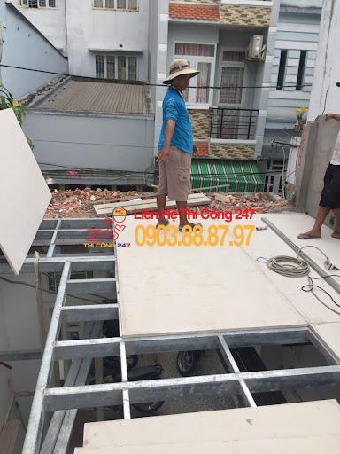 THI CÔNG 247 - Nhà Thầu Thi Công Sửa Chữa Công Trình 24/7 Nhà khung thép tiền chế sàn đúc giả là gì ? Xu hướng 2022 ?