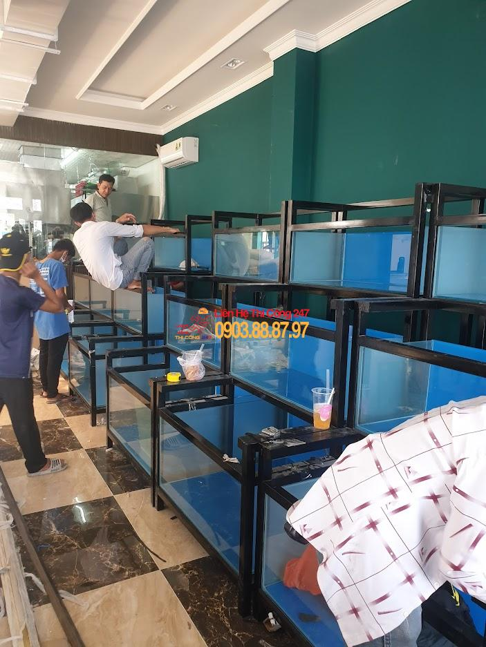 Thi Công 247 - Dịch vụ thi công sửa chữa nhà hàng 24h chuyên nghiệp