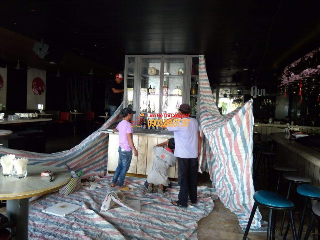 THI CÔNG 247 - Nhà Thầu Thi Công Sửa Chữa Công Trình 24/7 Dịch vụ thi công sửa chữa nhà hàng 24h chuyên nghiệp tphcm