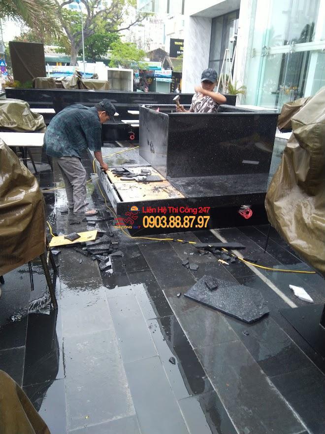 thi công sửa chữa nhà hàng