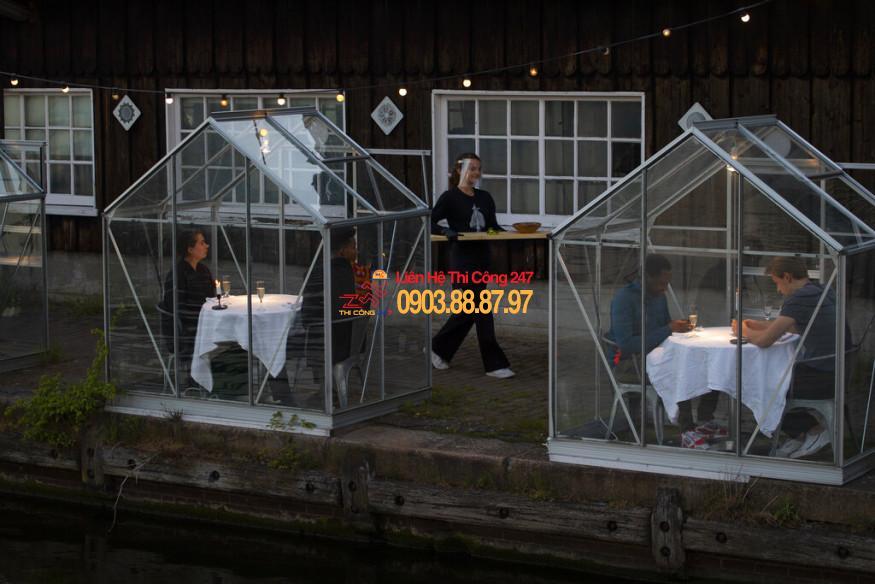 THI CÔNG 247 - Nhà Thầu Thi Công Sửa Chữa Công Trình 24/7 Cách sửa chữa nhà hàng để hút khách mới sau dịch Covid-19